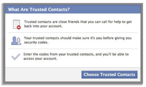 Facebook Trusted Contact
