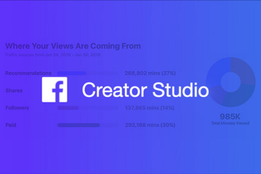 Facebook Launches Creator Studio Mobile App to Manage Pages - Social Singam