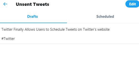 Drafts Tweet - Social Singam