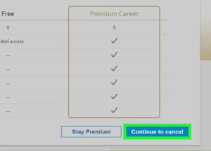 LinkedIn Premium Membership Cancel