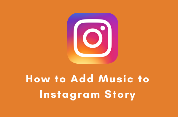 instagram story with music sticker
