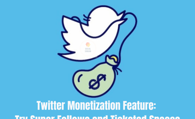 Twitter Monetization Feature: Try Super Follows and Ticketed Spaces